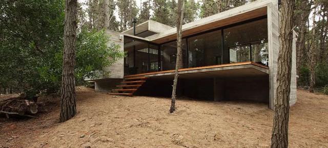 La casa mimética proyectada por BAK Arquitectos