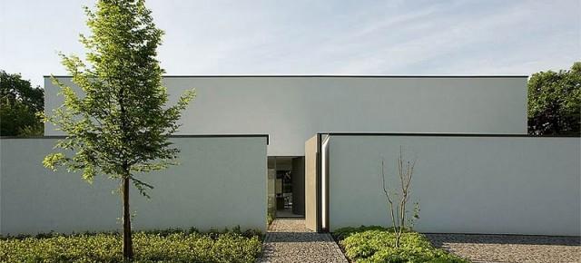 El elegante minimalismo del arquitecto belga Bruno Erpicum