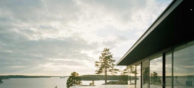 Casa en el archipiélago de Estocolmo, por John Robert Nilsson