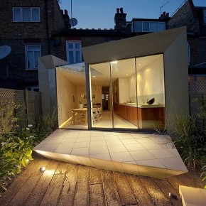 Faceted House 1, de Paul McAneary Architects