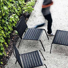Esencia minimalista en las colecciones outdoor de Kristalia