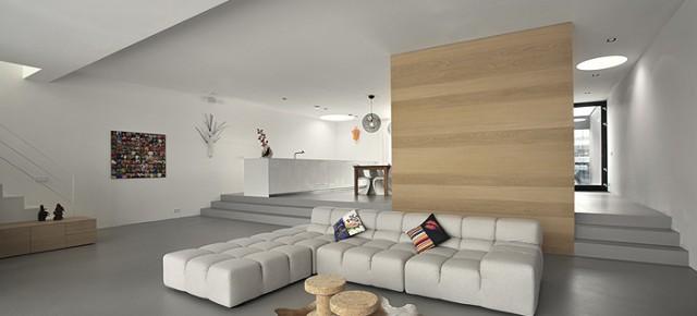 Vivienda minimalista en la ciudad de Amsterdam, por NAT Architecten