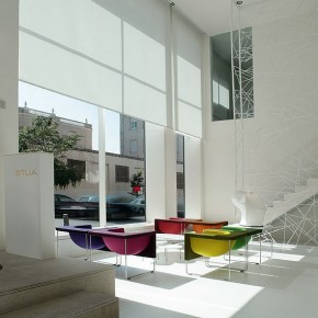 El showroom de Stua en Madrid