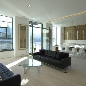 Apartamento minimalista con carisma industrial, por Chiara Ferrari (R)