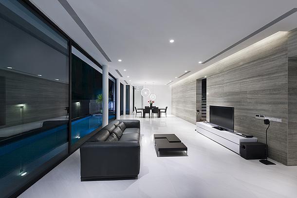 Especial los mejores interiores minimalistas de 2012 - Casa minimalista interior ...