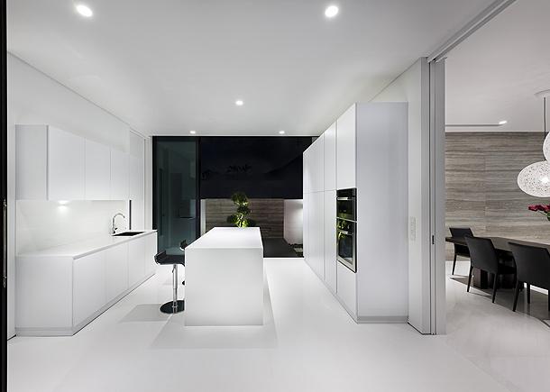 Elegante casa minimalista proyectada por park - Casa minimalista interior ...