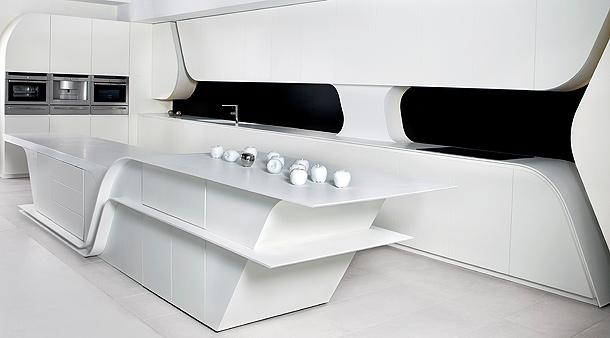 Muebles De Baño Wave:Cocina Wave de A-cero para Gunni&Trentino (1)
