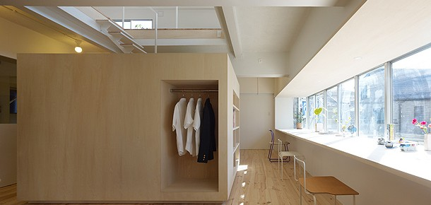 Vivienda minimalista en Megurohoncho, diseñada por Torafu Architects