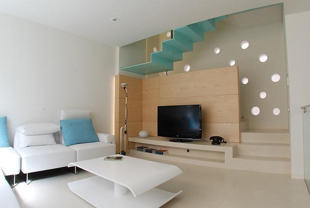 Vivir en ocho plataformas por ordaz arquitectura - Interiorismo de casas ...