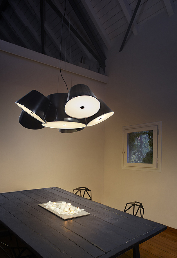 marset enciende la l mpara tam tam de fabien dumas interiores minimalistas. Black Bedroom Furniture Sets. Home Design Ideas