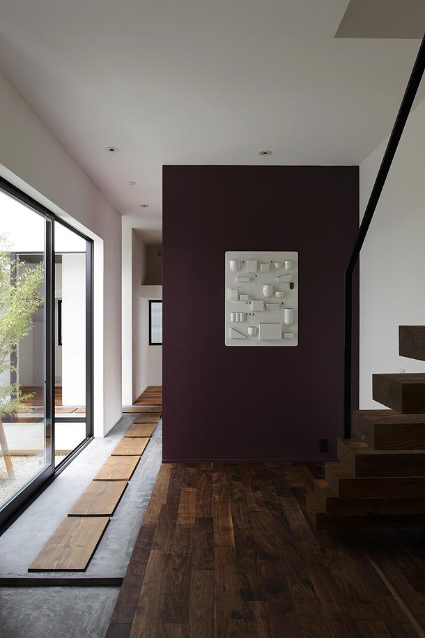 Una casa con guarder a de hitoshi saruta cubo design - Casas con luz natural ...