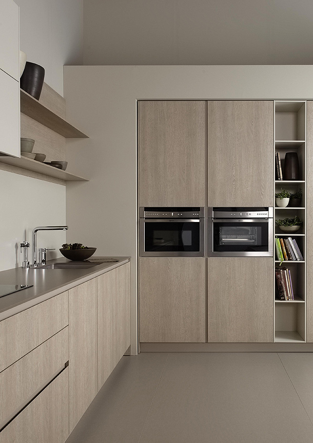 Nueva serie 45 de dica funcionalidad y minimalismo en la for Cocinas claras modernas