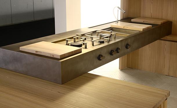 Lando presenta la cocina convivio, diseñada por enzo berti ...
