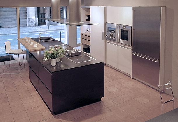 Nuevo programa 5011 de eilin una moderna cocina abierta for Isla cocina comedor
