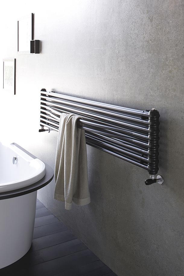 La firma irsap presenta su nuevo radiador toallero de for Radiadores toallero