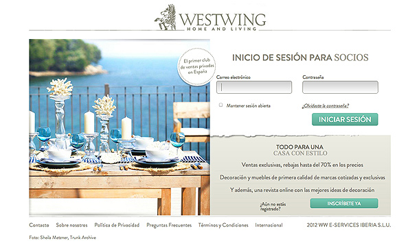 westwing nuevo portal de ventas online de decoraci n de gama alta interiores minimalistas. Black Bedroom Furniture Sets. Home Design Ideas