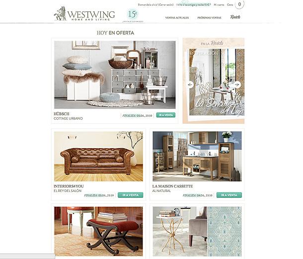 westwing nuevo portal de ventas online de decoraci n de gama alta interiores minimalistas. Black Bedroom Furniture Sets. Home Design Ideas
