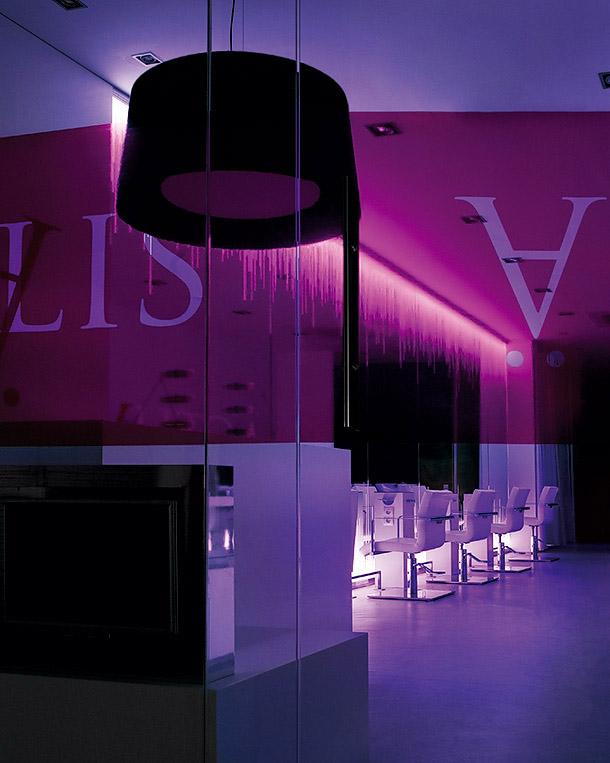 Actu lis un centro de belleza dise ado por el estudio cm2 for Administrar un salon de belleza
