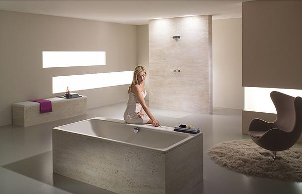 Griferia Para Baño De Lujo:Comfort Select: grifería electrónica para ducha y bañera de