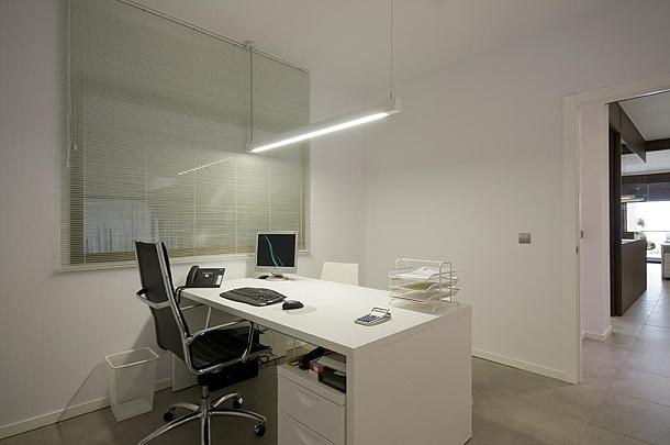 De altillo industrial a modernas oficinas un proyecto de for Iluminacion oficinas modernas