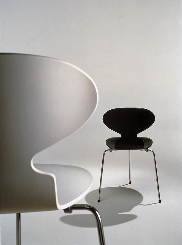 fritz hansen reedita la legendaria silla ant de arne jacobsen. Black Bedroom Furniture Sets. Home Design Ideas