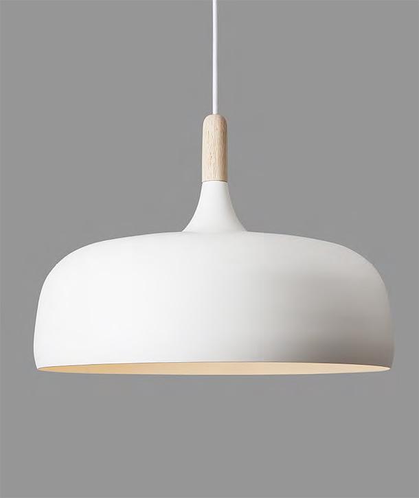 Atle tveit dise a la l mpara acorn para northern lighting - Lamparas nordicas techo ...