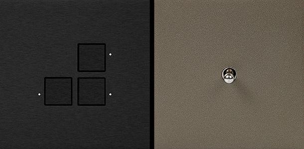 Difusiona presenta la serie de interruptores minimalistas - Interruptores de diseno ...