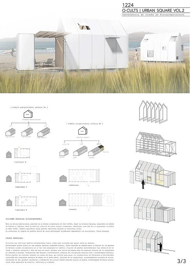Proyectos seleccionados de la segunda convocatoria de o for Minimalist house bay of fundy