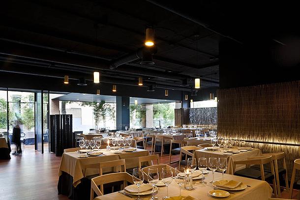 Restaurante al punto proyectado por el estudio mariano mart n - Restaurante al punt ...