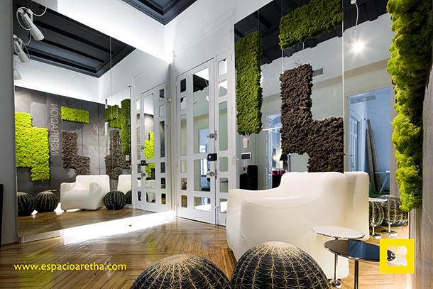 Espacio aretha la arquitectura interior vivida con los - Arquitectura de interiores madrid ...