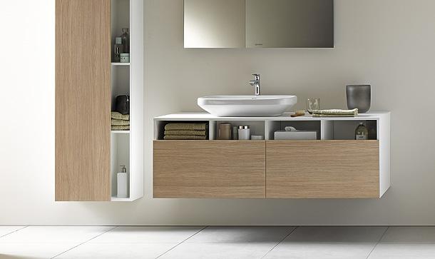 duravit y matteo thun presentan durastyle ud muebles lavabo desague vertical