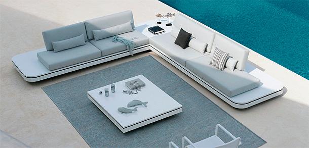 Elements, colecciu00f3n outdoor futurista de Gerd Couckhuyt para Manutti
