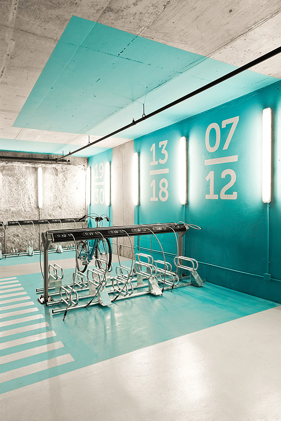 Sorprendente p rquing para bicicletas de iglesias for Office design meaning