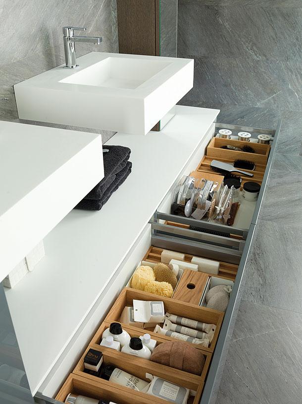 Muebles De Baño Porcelanosa:Clever Bathroom Storage