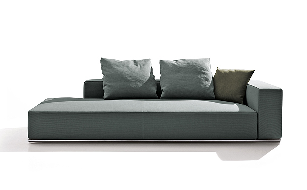 sof cama y chaise longue de paolo piva para b b italia. Black Bedroom Furniture Sets. Home Design Ideas