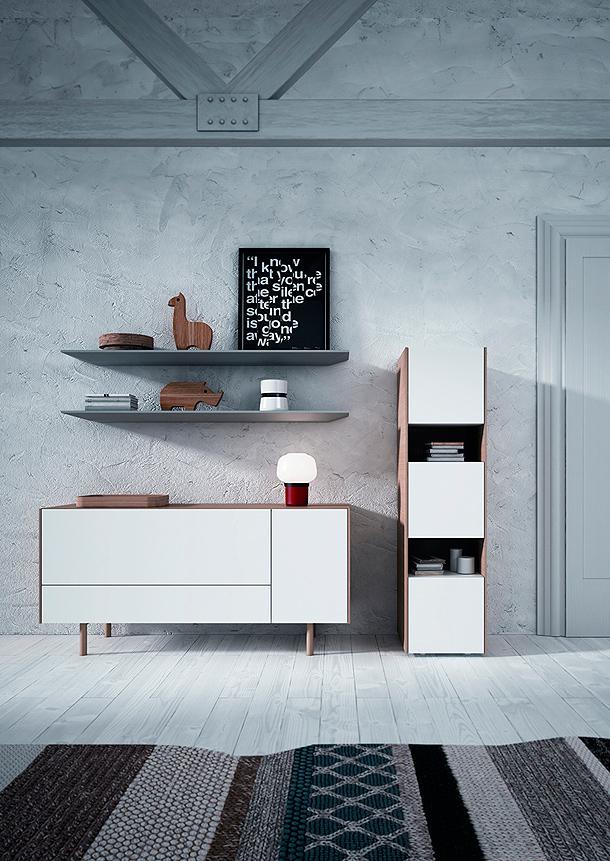 Systems: propuestas minimalistas de Arlex para el comedor y el salón