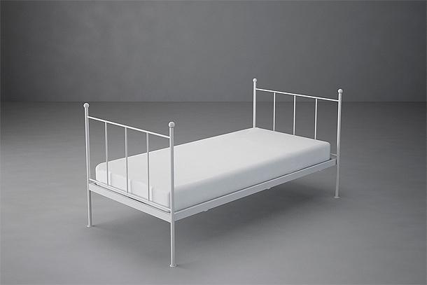 Las camas minimalistas y vintage de la colección de studio martell