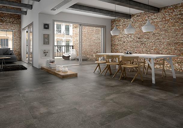 Colecci n de pavimento porcel nico de keraben aire urbano - Pavimentos ceramicos interiores ...