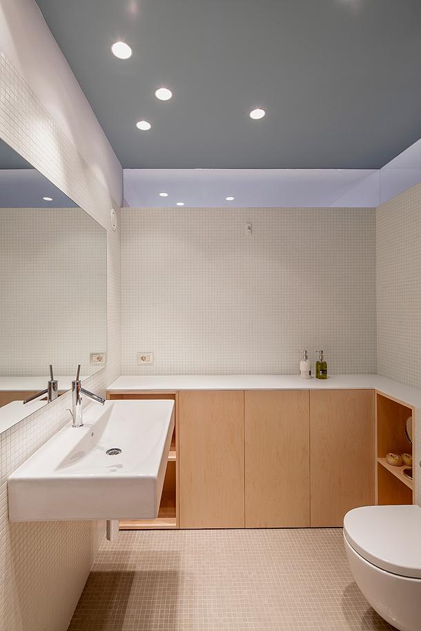 15 bonito falso techo ba o im genes decoracion de banos - Iluminacion techo bano ...