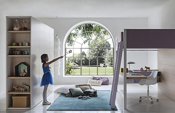 Nidi colecci n de mobiliario infantil para el dormitorio for Jugendzimmer colori
