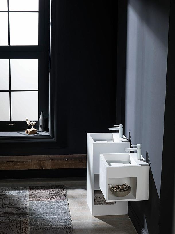 Encimeras Baño Krion:Ras: nueva y elegante colección de encimeras y lavabos en Krion