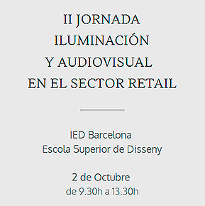 El Cicat organiza la II Jornada de Iluminación y Audiovisual Sector Retail