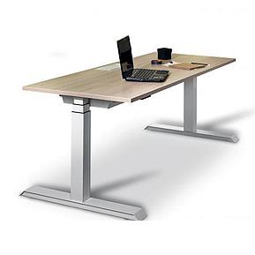 Multilevel, primera serie de mesas regulables en altura de la firma Ofita