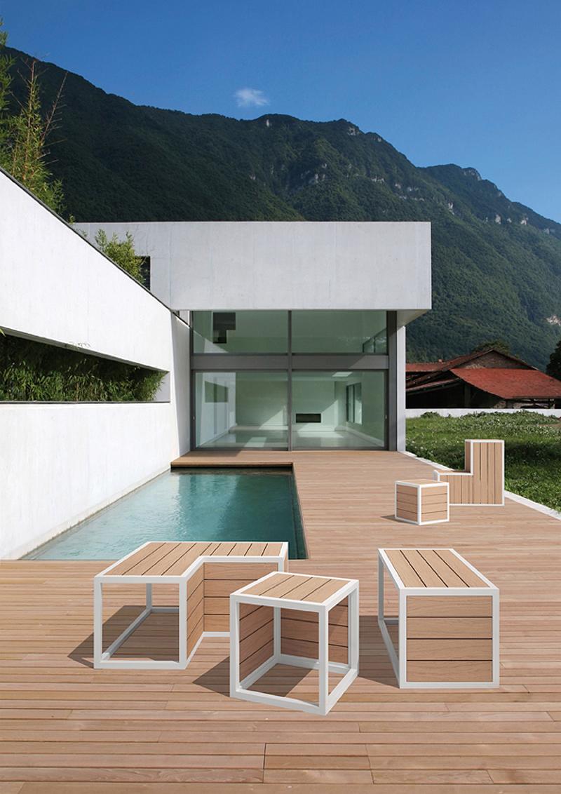 Cubico de d co sistema modular de mobiliario de exterior - Mobiliario de exterior ...