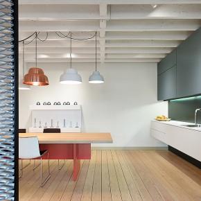 Modernas oficinas con aire industrial, diseñadas por Studio Alexander Fehre