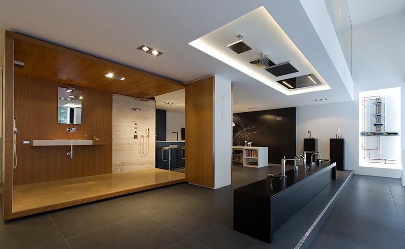 Nuevo showroom de dornbracht y alape en barcelona for Showroom grohe barcelona