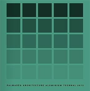 El libro con los finalistas y ganadores del Palmarés Architecture Technal 2013