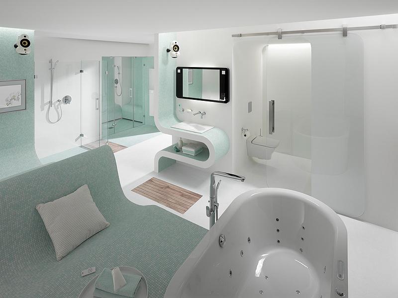 Cómo serán los baños en el 2034
