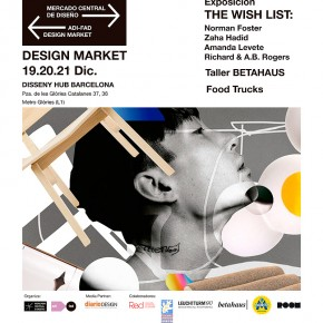 El Design Market y The Whish List llegan al DHUB del 19 al 21 de diciembre