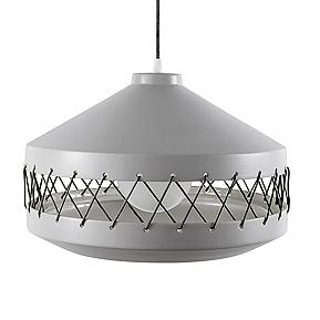 Lámpara de terracota diseñada por Laura Marín para Incipit